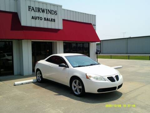 2007 Pontiac G6 for sale at Fairwinds Auto Sales in Dewitt AR