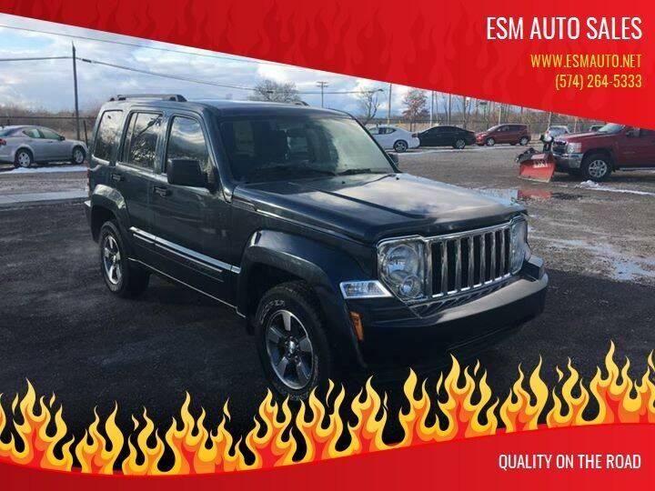 2008 Jeep Liberty for sale at ESM Auto Sales - Consignment in Elkhart IN