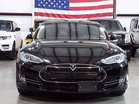 2015 Tesla Model S for sale at Texas Motor Sport in Houston TX
