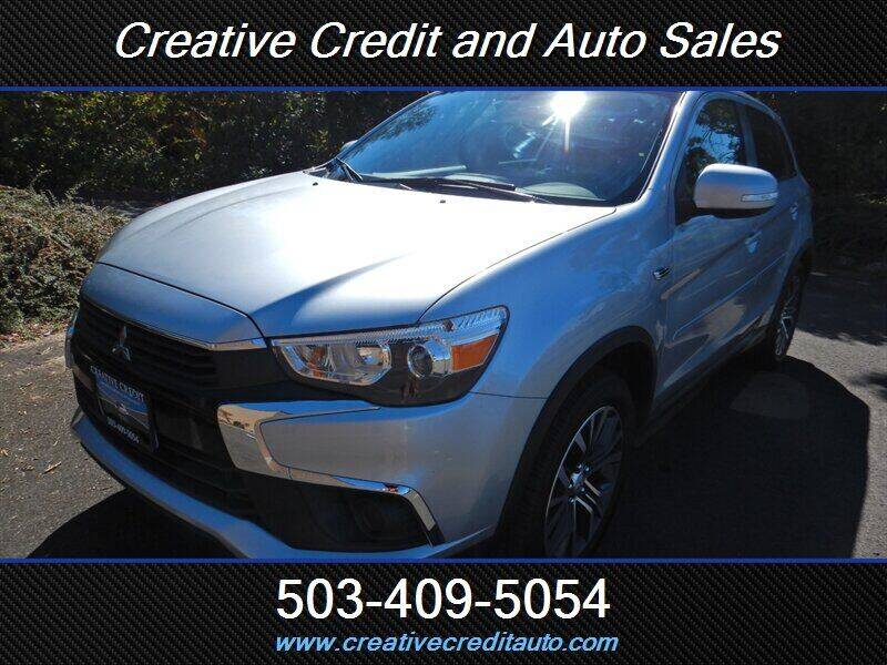 2016 Mitsubishi Outlander Sport for sale at Creative Credit & Auto Sales in Salem OR