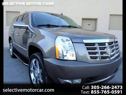 2014 Cadillac Escalade for sale at Selective Motor Cars in Miami FL