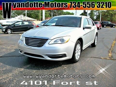 2012 Chrysler 200 for sale at Wyandotte Motors in Wyandotte MI