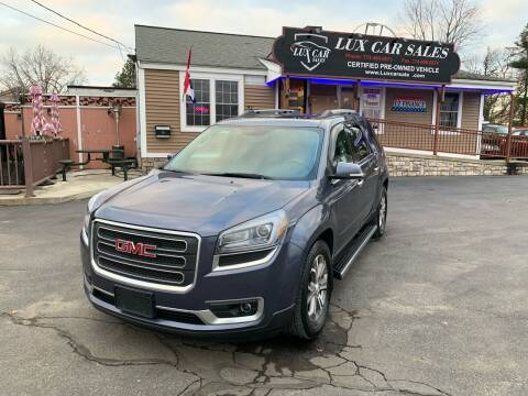 2014 GMC Acadia for sale at Lux Car Sales in South Easton MA