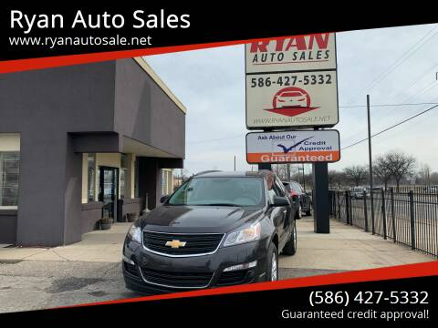 2017 Chevrolet Traverse for sale at Ryan Auto Sales in Warren MI