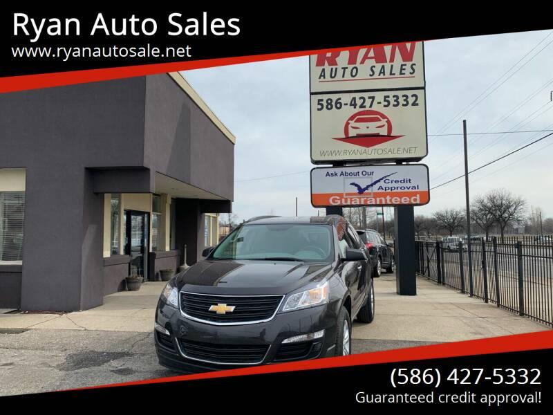 2017 Chevrolet Traverse for sale at Ryan Auto Sales in Warren MI