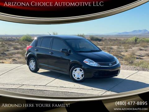 2010 Nissan Versa for sale at Arizona Choice Automotive LLC in Mesa AZ