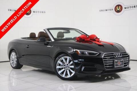 2018 Audi A5 for sale at INDY'S UNLIMITED MOTORS - UNLIMITED MOTORS in Westfield IN