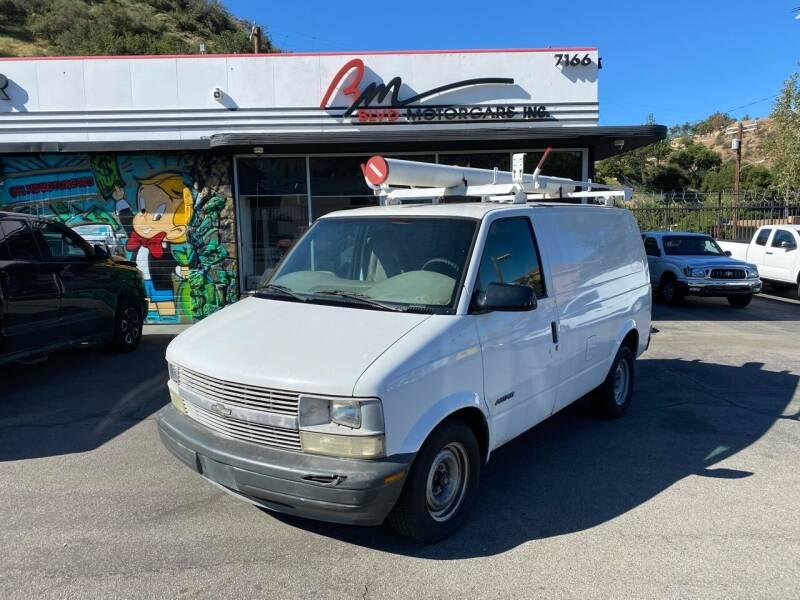 2000 Chevrolet Astro Cargo for sale in Tujunga, CA