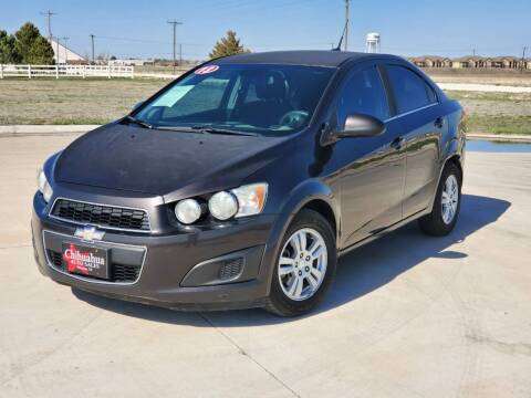 2013 Chevrolet Sonic for sale at Chihuahua Auto Sales in Perryton TX