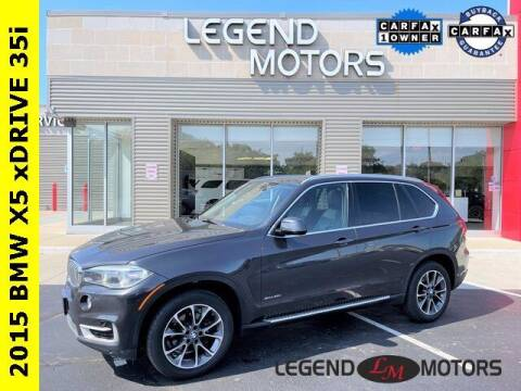 2015 BMW X5 for sale at Legend Motors of Waterford in Waterford MI