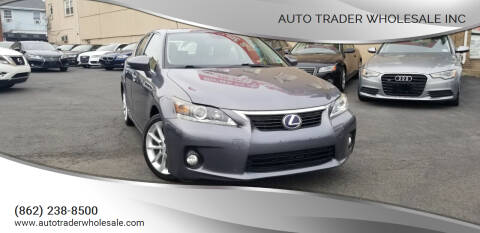 2012 Lexus CT 200h for sale at Auto Trader Wholesale Inc in Saddle Brook NJ
