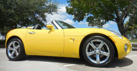 2007 Pontiac Solstice for sale at Performance Autos of Southwest Florida in Fort Myers FL