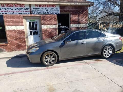 2009 Lexus ES 350 for sale at El Jasho Motors in Grand Prairie TX