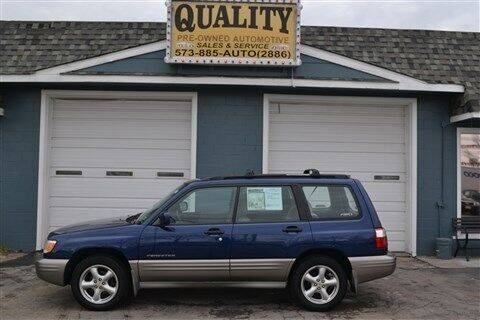 2002 Subaru Forester for sale at Quality Pre-Owned Automotive in Cuba MO
