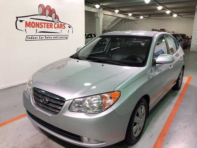 2008 Hyundai Elantra for sale at Monster Cars in Pompano Beach FL