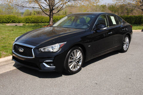 2018 Infiniti Q50 for sale at Byrds Auto Sales in Marion NC