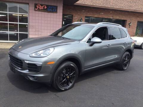2016 Porsche Cayenne for sale at Pat's Auto Sales, Inc. in West Springfield MA