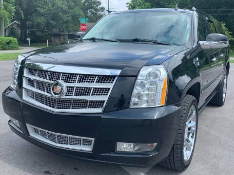 2013 Cadillac Escalade ESV for sale at Consumer Auto Credit in Tampa FL