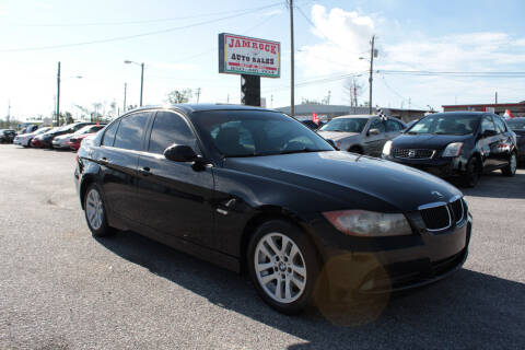 2007 BMW 3 Series for sale at Jamrock Auto Sales of Panama City in Panama City FL