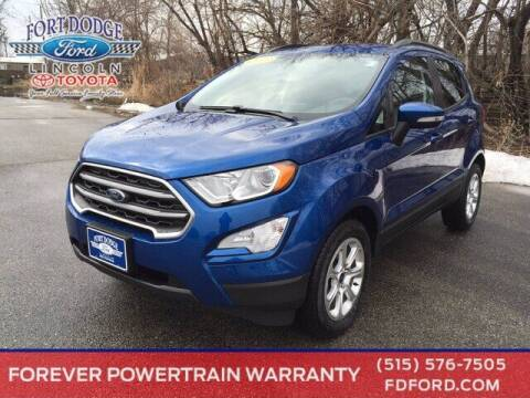 2021 Ford EcoSport for sale at Fort Dodge Ford Lincoln Toyota in Fort Dodge IA