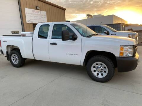 2012 Chevrolet K1500 W/T 4x4 315HP 5.3L Vortec Engine EXT Cab 4Dr for sale at Albers Sales and Leasing, Inc - Albers Sales and Leasing Inc in Bismarck ND