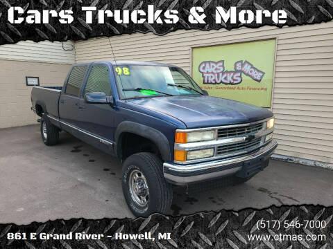 1998 Chevrolet C/K 3500 Series for sale at Cars Trucks & More in Howell MI