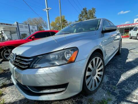 2013 Volkswagen Passat for sale at Always Approved Autos in Tampa FL
