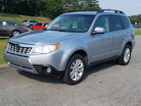 2012 Subaru Forester for sale at JR's Auto Sales Inc. in Shelby NC