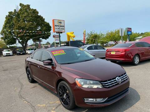 2014 Volkswagen Passat for sale at TDI AUTO SALES in Boise ID