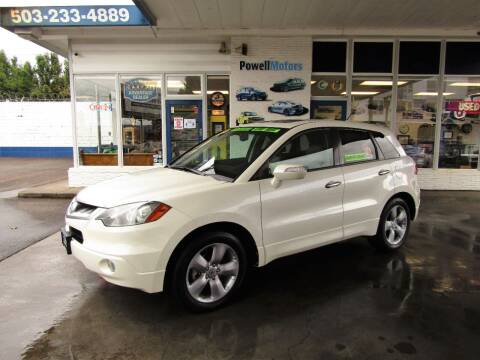 2009 Acura RDX for sale at Powell Motors Inc in Portland OR