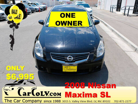 2008 Nissan Maxima for sale at The Car Company in Las Vegas NV
