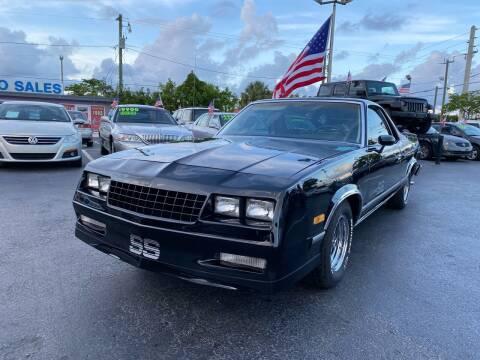 1983 Chevrolet El Camino for sale at KD's Auto Sales in Pompano Beach FL