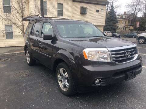 2012 Honda Pilot for sale at Welcome Motors LLC in Haverhill MA