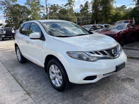 2014 Nissan Murano for sale at AUTO WOODLANDS in Magnolia TX