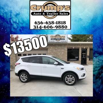 2017 Ford Escape for sale at CRUMP'S AUTO & TRAILER SALES in Crystal City MO