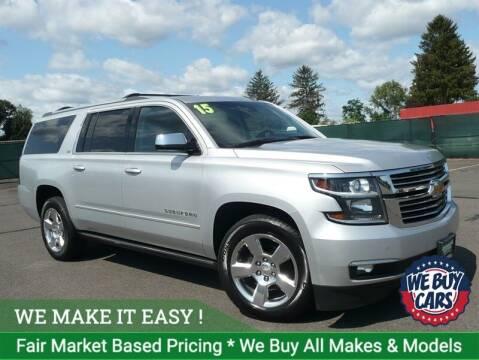 2015 Chevrolet Suburban for sale at Shamrock Motors in East Windsor CT