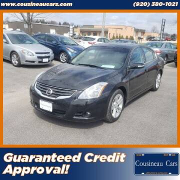 2012 Nissan Altima for sale at CousineauCars.com - Guaranteed Credit Approval in Appleton WI