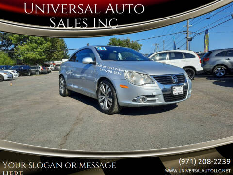 2008 Volkswagen Eos for sale at Universal Auto Sales Inc in Salem OR