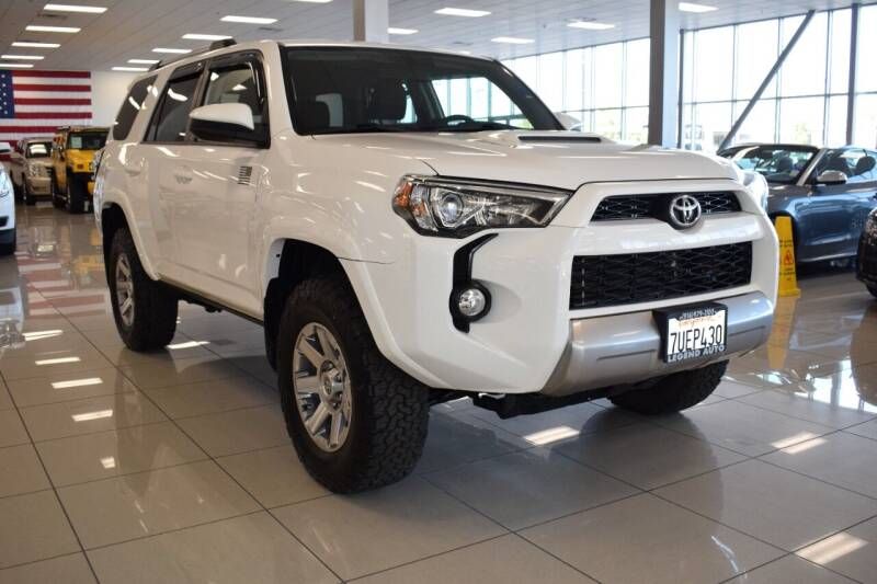 2016 Toyota 4Runner for sale at Legend Auto in Sacramento CA