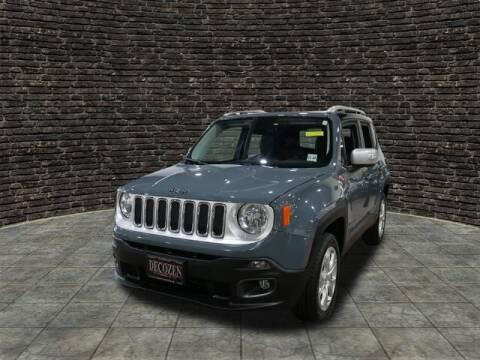 2017 Jeep Renegade for sale at Montclair Motor Car in Montclair NJ