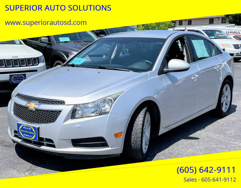 2014 Chevrolet Cruze for sale at SUPERIOR AUTO SOLUTIONS in Spearfish SD