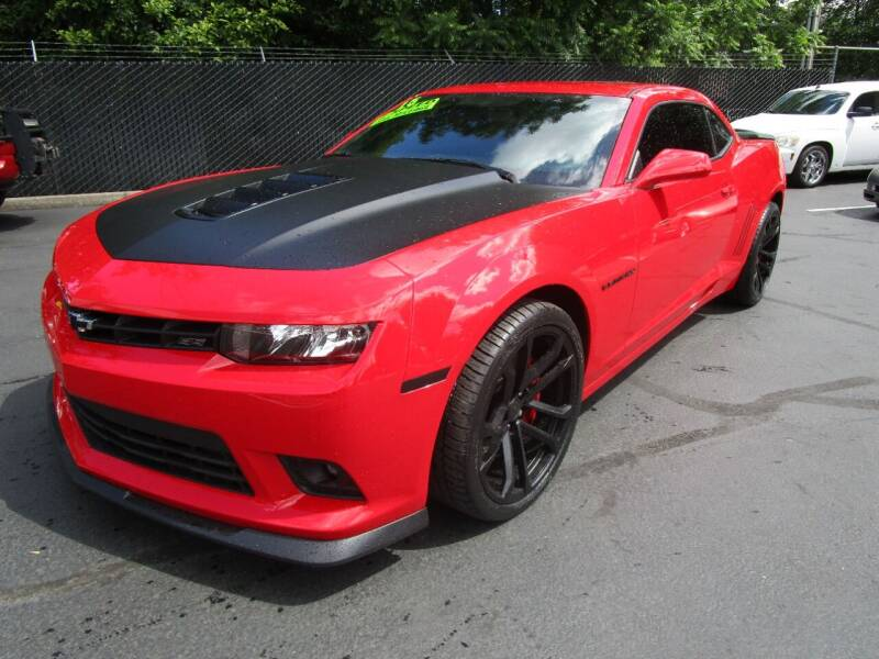 2015 Chevrolet Camaro for sale at LULAY'S CAR CONNECTION in Salem OR