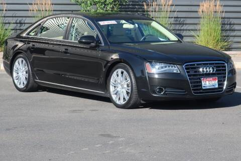 2012 Audi A8 L for sale at Sun Valley Auto Sales in Hailey ID