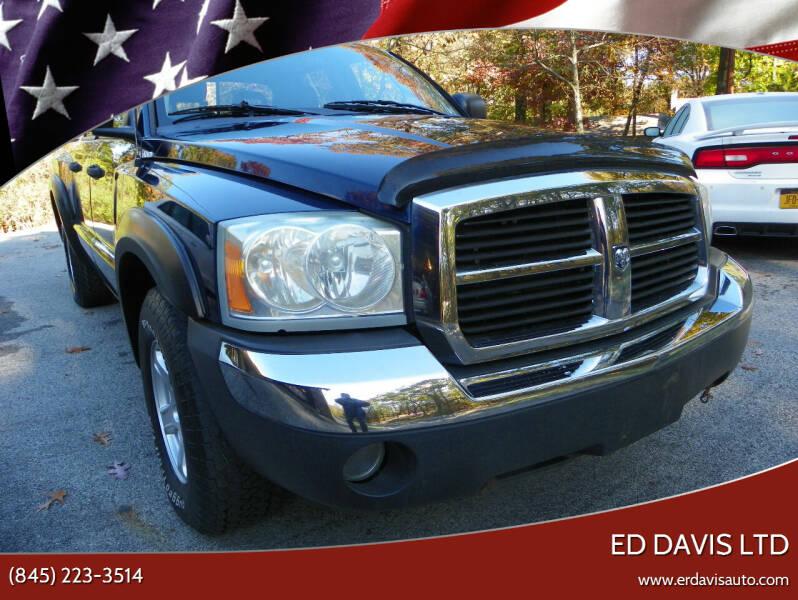 2005 Dodge Dakota for sale at Ed Davis LTD in Poughquag NY