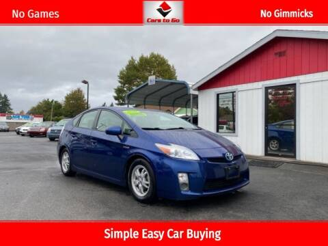 2010 Toyota Prius for sale at Cars To Go in Portland OR