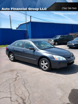 2004 Honda Accord for sale at Auto Financial Group LLC in Flat Rock MI