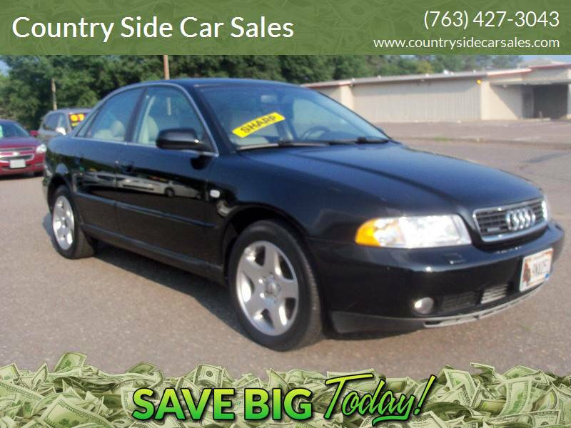 2001 Audi A4 for sale at Country Side Car Sales in Elk River MN
