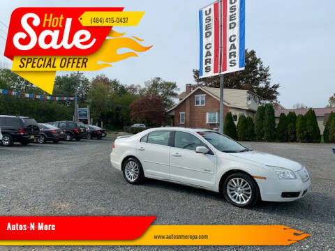 2008 Mercury Milan for sale at Autos-N-More in Gilbertsville PA