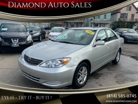 2003 Toyota Camry for sale at Diamond Auto Sales in Milwaukee WI