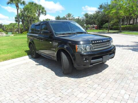 2011 Land Rover Range Rover Sport for sale at AUTO HOUSE FLORIDA in Pompano Beach FL